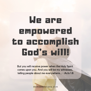 Acts 1.8 Empowered