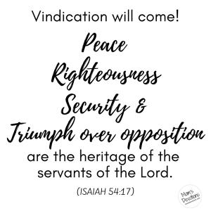 Isaiah 54.17