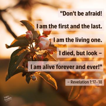 Revelation 1.17-18