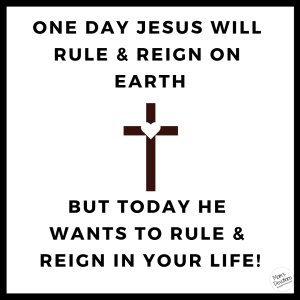 rule and reign in your life